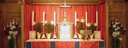 The Altar at St. Hugh of Lincoln